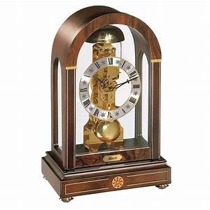 Hermle Stratford Mechanical Skeleton Table    Mantel Clock