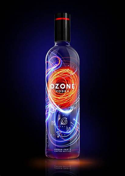Vodka Ozone Limited Edition Party Night Packaging