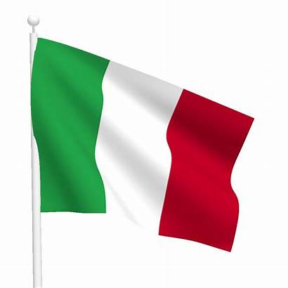 Flag Italy Flags Pole Heavy International
