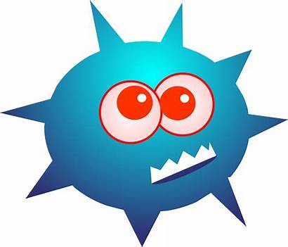 Clipart Bacteria Clip Virus Germ Microorganism Projects