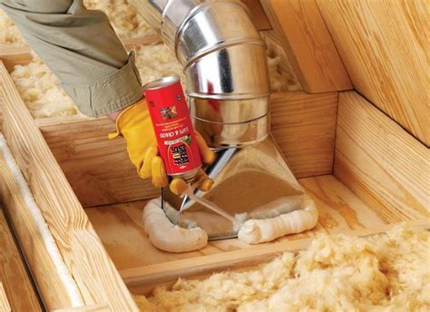 If you have ducts in the attic, use GREAT STUFF Insulating