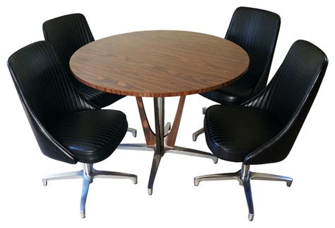 Chromcraft Furniture Dining Sets by 1969 Chromcraft Dinette Sold Midcentury Dining Sets