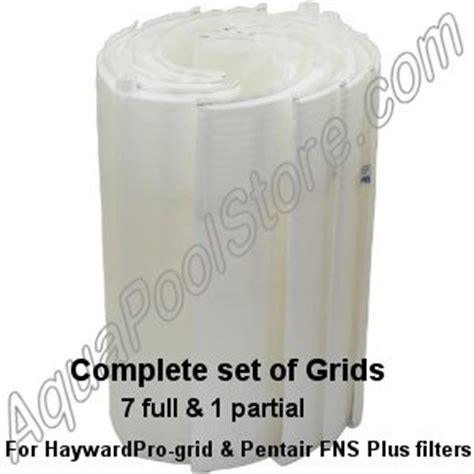 pentair pools fns  vertical grid de filter