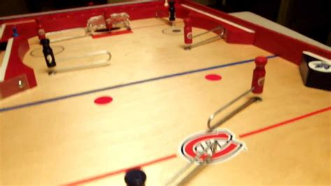 Jeu De Hockey Sur Table Style Munro 1955 Youtube