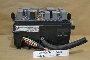 2006 Nissan Sentra Fuse Box Relay Unit 919552f072 Module