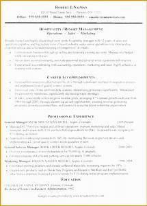 5 hospitality resume writing example free samples With hospitality resume writing services