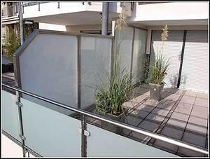 Sichtschutz Balkon Glas : balkon sichtschutz glas alu download page beste wohnideen galerie ~ Indierocktalk.com Haus und Dekorationen