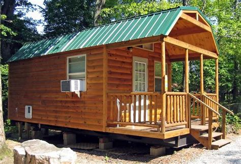 log cabin trailer homes park model mobile home log breckenridge cabin trailer