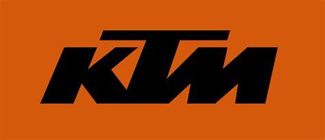 ktm logo black mit orange  ktm pinterest