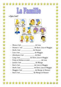 Alphabet Printable Worksheets Big 21396 La Famille Simpsons 1 Jpg