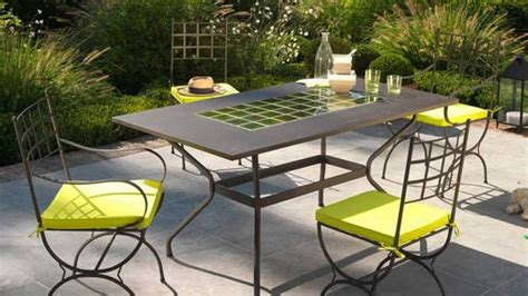 metal outdoor furniture for all decoration styles 10
