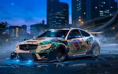 Drift Mercedes Wallpapers 4k Cars Custom Benz
