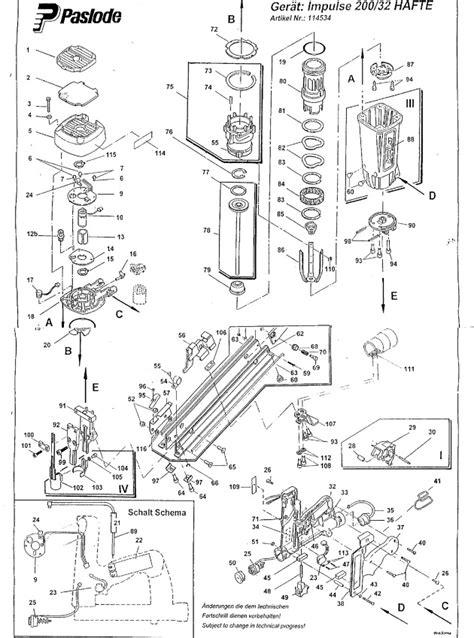paslode im  hafte spare parts part shop direct