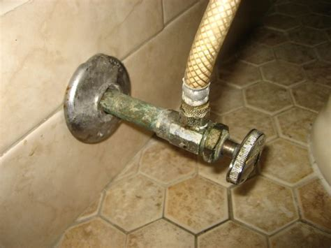 toilet valve replacement angle stop replacement