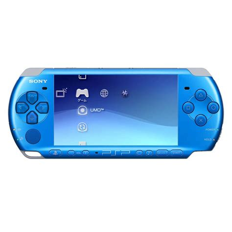 Blue Slim Lite Sony Psp 3003 Handheld Games Console With