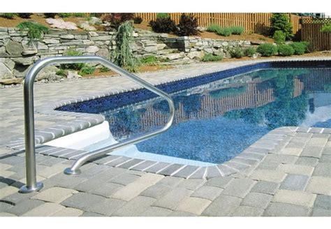 corrimano per esterno corrimano piscina ancoraggio esterno flexinox piscina co