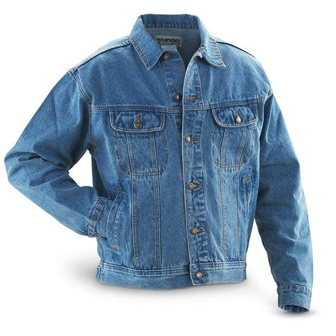 wrangler 39 s denim jean jacket 47385 uninsulated