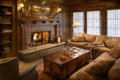 Bright Kitchen Lighting Ideas - get cozy a rustic lodge style living room makeover betterdecoratingbiblebetterdecoratingbible