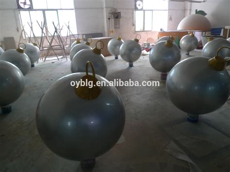 large outdoor fiberglass christmas balls buy large
