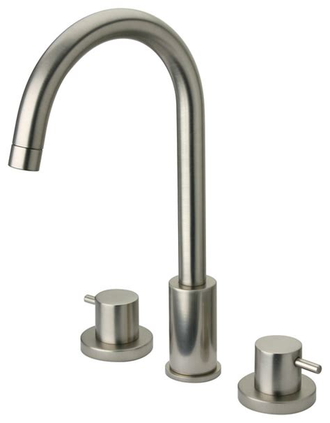 La Toscana Elba Faucet by Latoscana Elba Widespread Lavatory Faucet Brushed Nickel