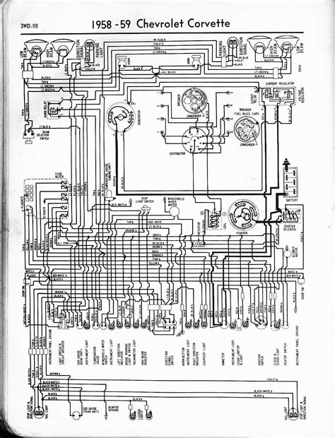 67 Chevy 2 Column Wiring Schematic by 57 65 Chevy Wiring Diagrams