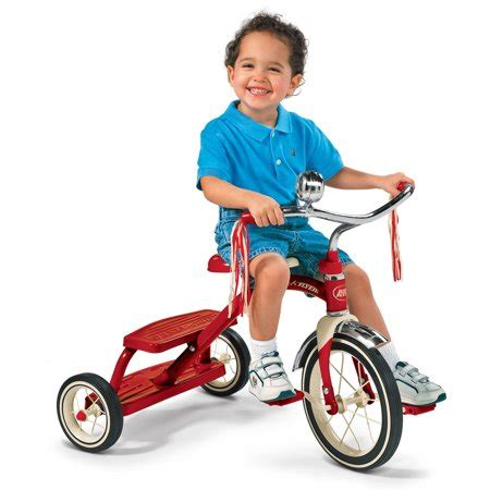radio flyer classic red dual deck tricycle walmartcom