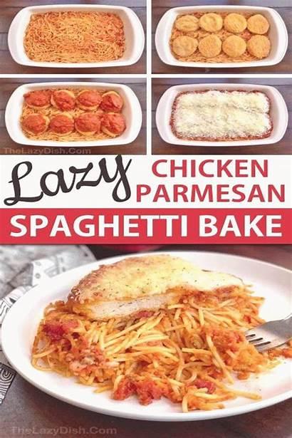 Dinner Chicken Casserole Easy Spaghetti Baked Quick