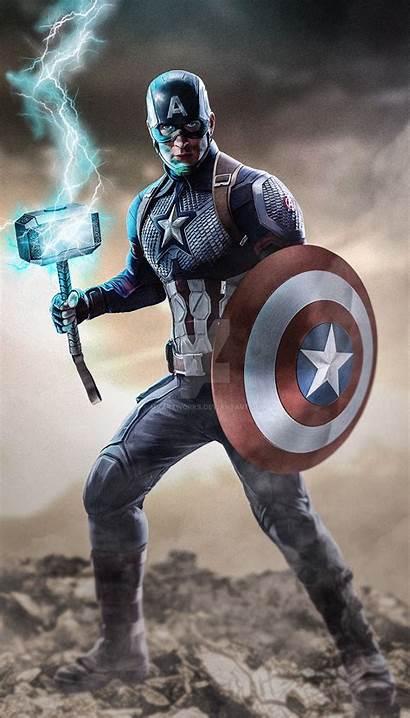 Captain America Deviantart Inspired