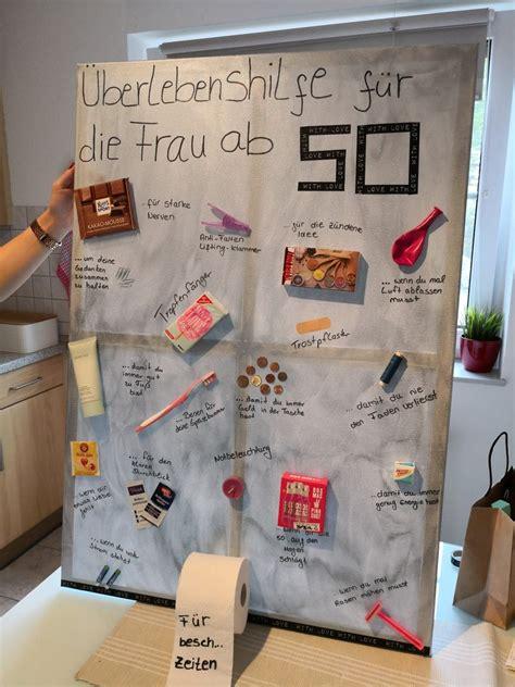 Geschenk Für 50 by 220 Berlebenshilfe F 252 R Die Frau Ab 50 Geburtstagsgeschenk 50