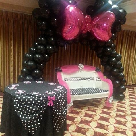 minnie mouse polka dots baby shower ideas baby