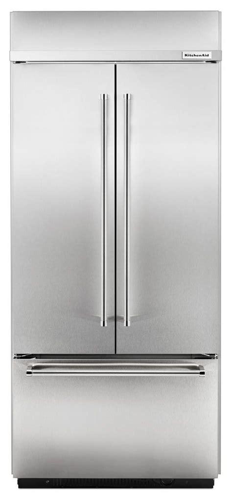 Kitchenaid Refrigerator Built In by Kitchenaid Built In Stainless Refrigerator Kbfn406ess