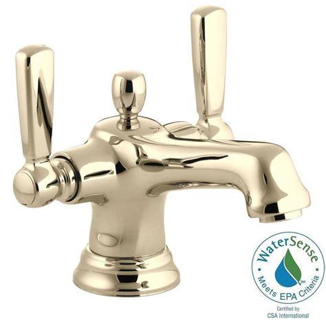 Kohler Bancroft Monoblock Faucet by Kohler Bancroft 4 In 2 Handle Mono Block Design Bathroom
