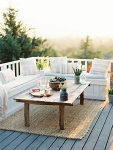 le tapis d39exterieur un accessoire beaucoup de possibilite With tapis moderne avec canapé rotin ikea