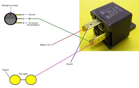 Fog Light Wiring Diagram With Relay Electrical Boat