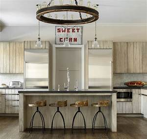 farmhouse kitchen with glazed shiplap cabinets home With what kind of paint to use on kitchen cabinets for my chemical romance wall art