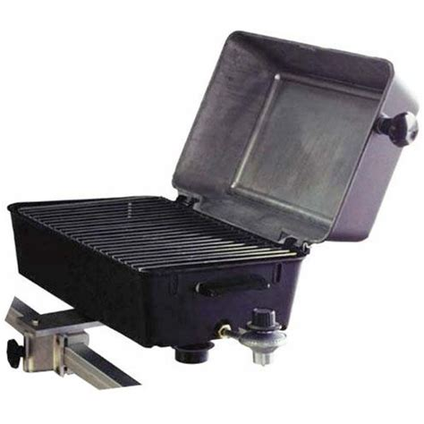 Boat Rail Grill by Springfield 1940054 Deluxe Barbecue Gas Grill W Square