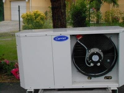 climatiseur pour chambre groupe froid carrier carrier quietis 10 à 2400 40180