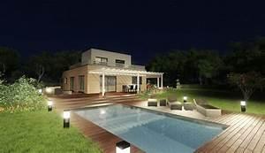 Maison Préfabriquée En Bois : constructeur de maison pr fabriqu e modulaire en bois ~ Premium-room.com Idées de Décoration