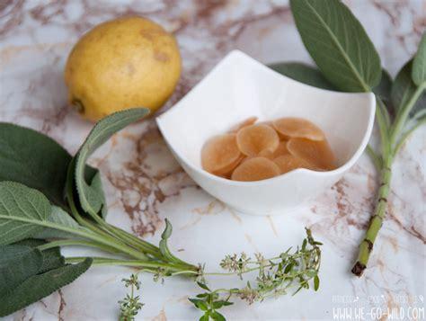thymiantee selber machen hustenbonbons selber machen mit xylit ingwer und honig