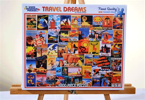 Travel Posters Jigsaw Puzzle