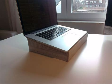 diy wood laptop stand google search mstand wooden