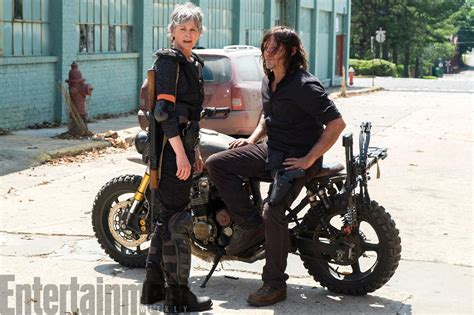 Carol And Daryl Reunite In New Photo From The Walking Dead