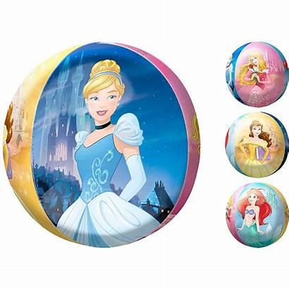 Princess Balloon Disney Orbz Thru Party Partycity