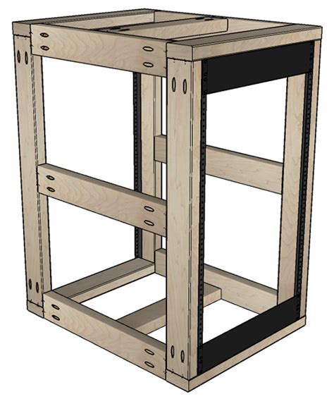 cl rack plans diy server rack plans