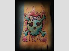 Girly Skull Tattoos Tattoos Facebook