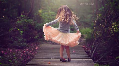 little Girl, Children, Planks, Forest, Blonde Wallpapers ...