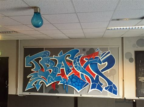 Mr Graffiti by Mr Graffiti Interieur Jongerencentrum Traxx Mr Graffiti
