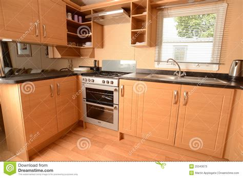 cuisine lapere intérieur de cuisine moderne image stock image 25343073