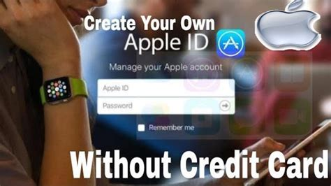 Unless you have successfully created an account, you won't be able to enjoy all the benefits that have been provided by apple. Create Your own Apple ID without credit card    with your ...