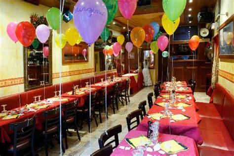 restaurant avec salle pour anniversaire une soir 233 e anniversaire deco salle avec ballons picture of chez ida marseille tripadvisor